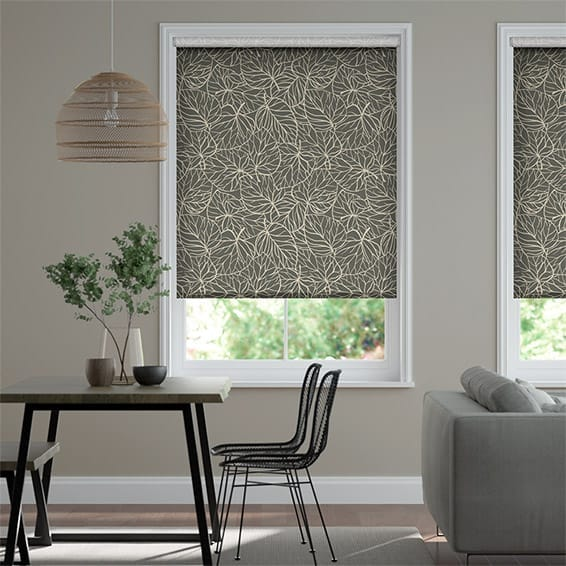 Ilana Iron Grey Roller Blind