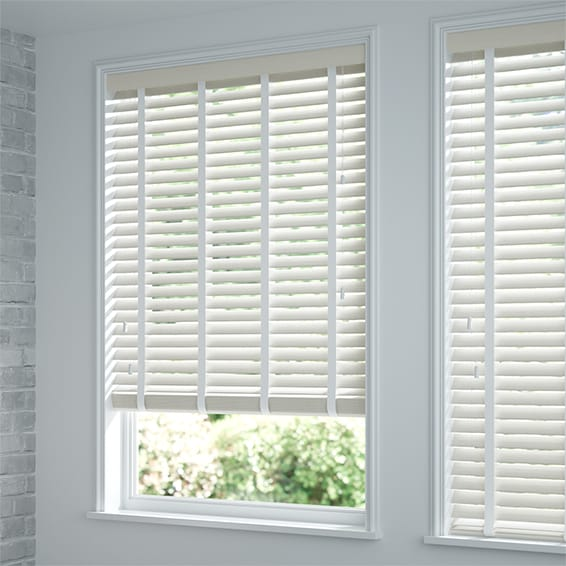 Wooden Blinds By Web Blinds Stunning White Wooden Blinds With Tapes