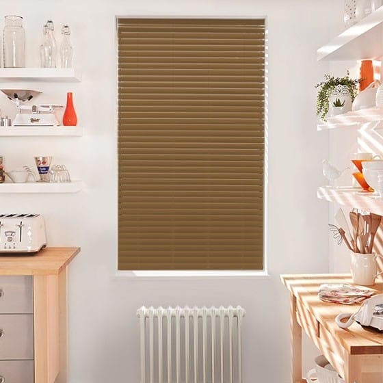 Innovations Cosmo Beech Faux Wood Blind - 50mm Slat