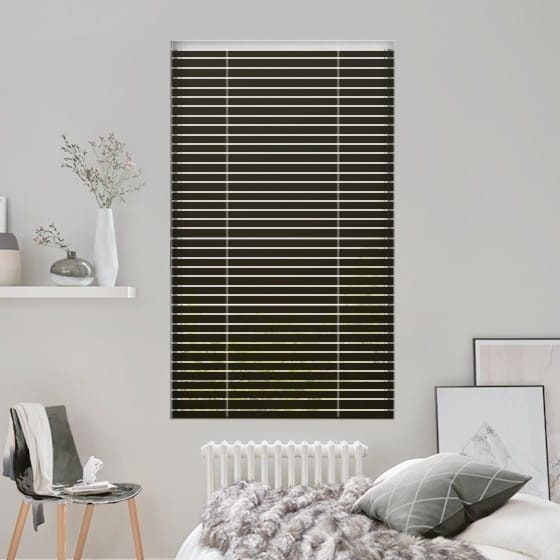 Joy of Black Venetian Blind