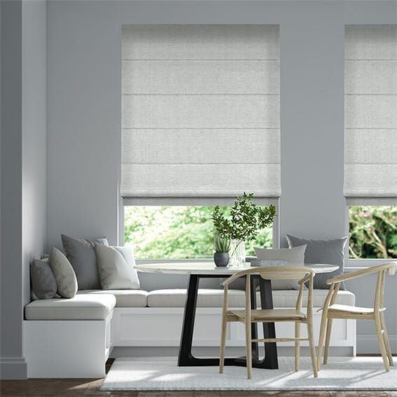 Katan Grey Haze Roman Blind