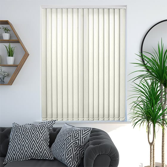 Kensington Vanilla Vertical Blind
