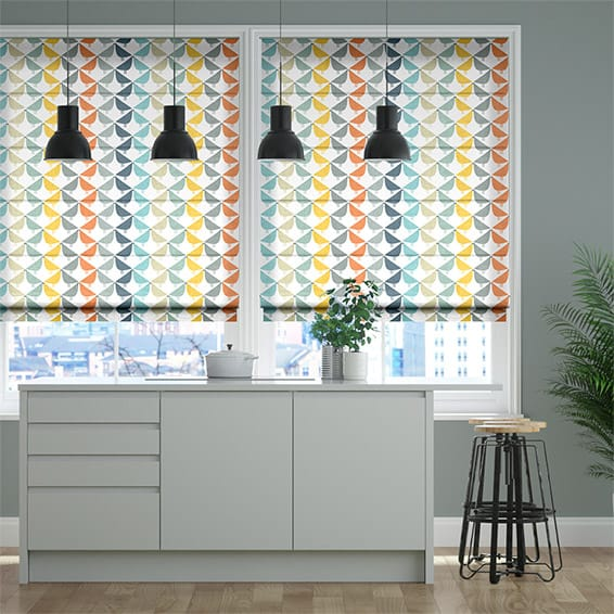 Lintu Fruit Punch Roman Blind