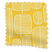 Little Trees Yellow Roller Blind sample image