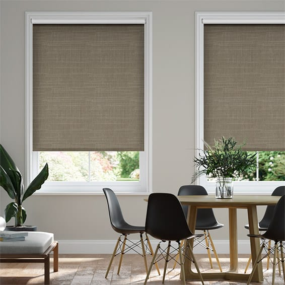 Lorenzo Blackout Cocoa Roller Blind