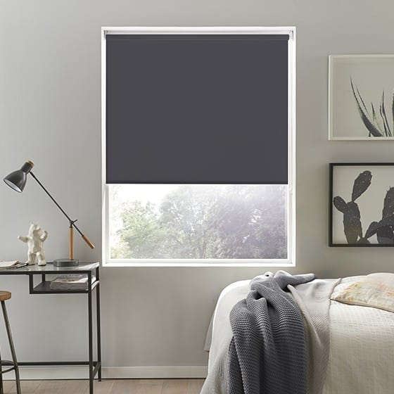 black blackout blinds blind curtains roller tomma jysk