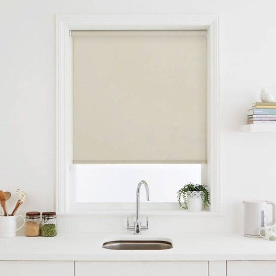 Luna FR Cream Roller Blind