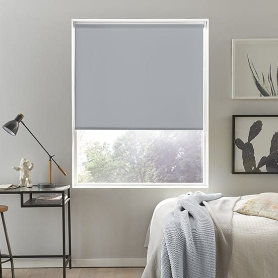 Luna FR Grey Roller Blind