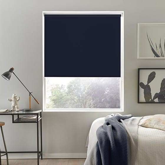 Luna FR Night Roller Blind