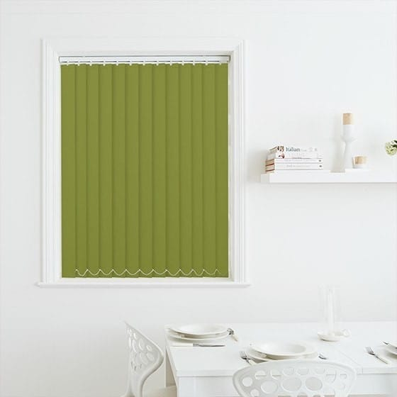 Luna Green Blackout Vertical Blind