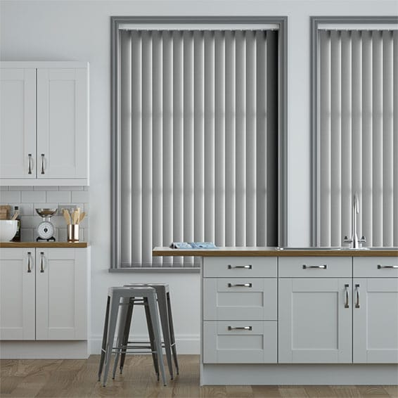 Luna Grey Blackout Vertical Blind