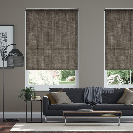 Michel Grey Taupe Roller Blind