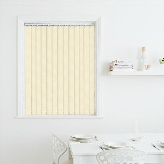 Milano Cream Vertical Blind
