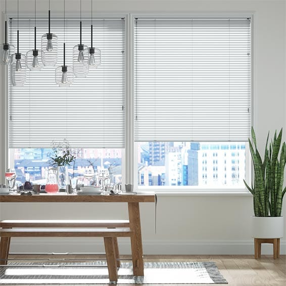 Milk White Venetian Blind