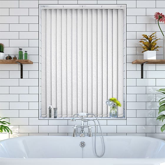 Mokra Sugar White Blackout Vertical Blind