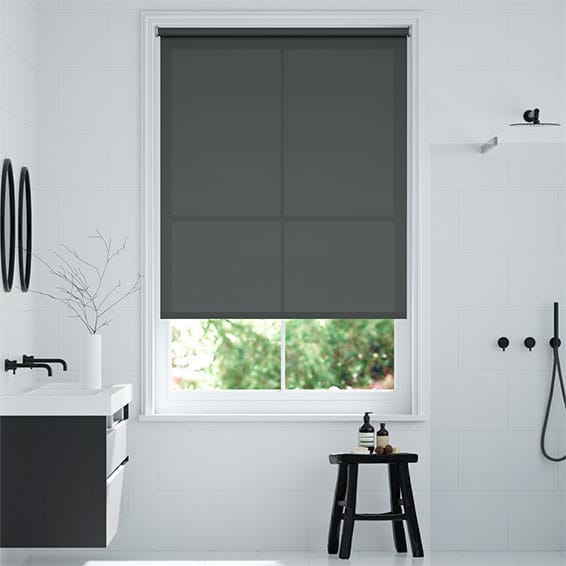 Monaco Iron Grey Roller Blind