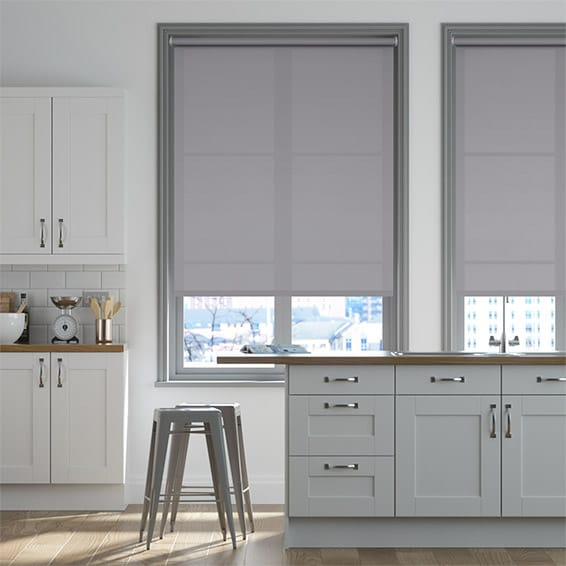Monaco Seaside Grey Roller Blind