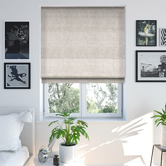 Mostar Neutral Roman Blind