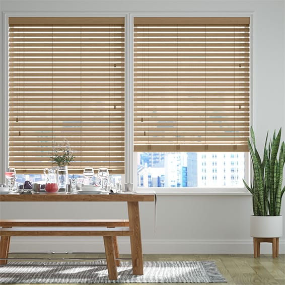 Origin Cool Oak Wooden Blind
