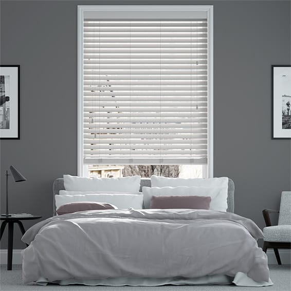 Origin Dove Grey Wooden Blind