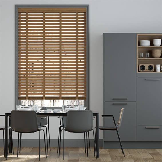 Origin Warm Oak with Oak Wooden Blind
