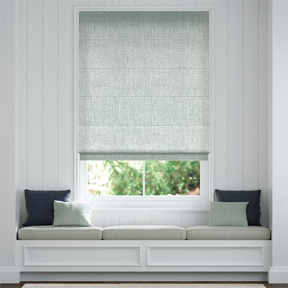 Oscuro Linen Soft Grey Roman Blind