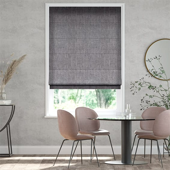 Oscuro Linen Warm Grey Roman Blind