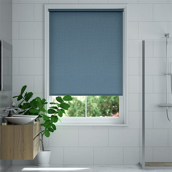 Palma Blackout Endless Blue Roller Blind