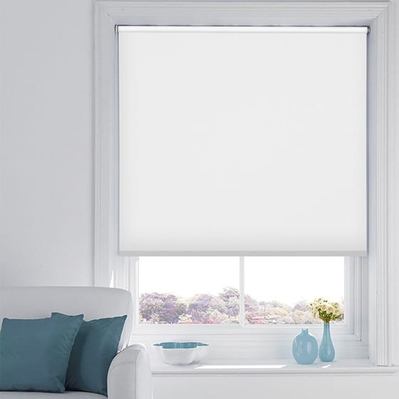 Patch White Roller Blind