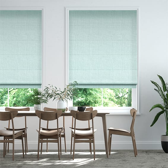 Pembroke Cool Mint Roman Blind