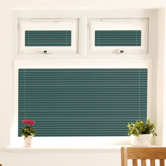 Perfect Fit Bottle Green Venetian Blind