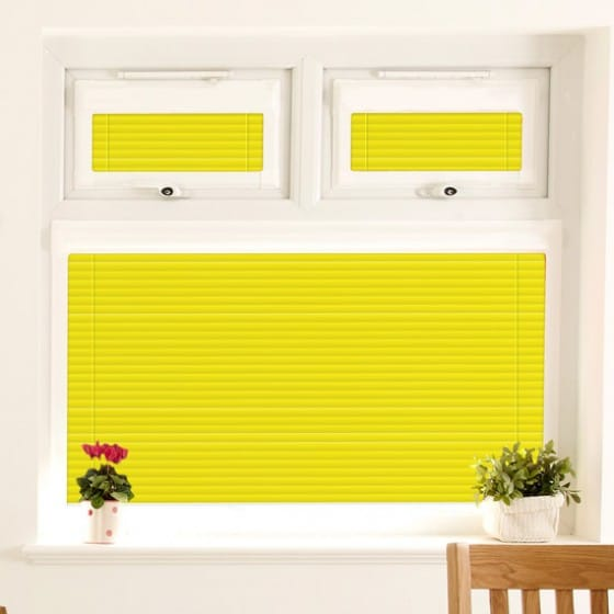 Perfect Fit Bright Yellow Venetian Blind
