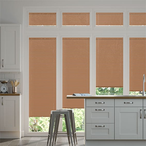 Perfect Fit Copper Plate Venetian Blind