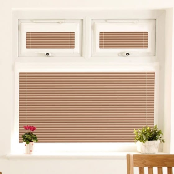 Perfect Fit Crackled Gold Venetian Blind