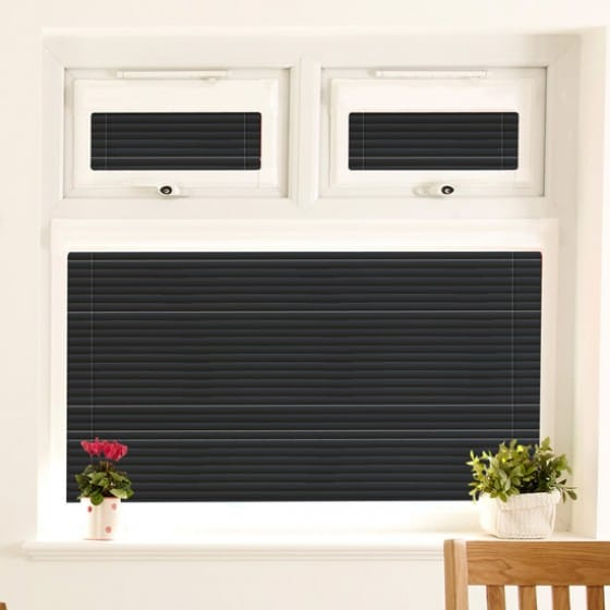 Perfect Fit Dark Black Venetian Blind