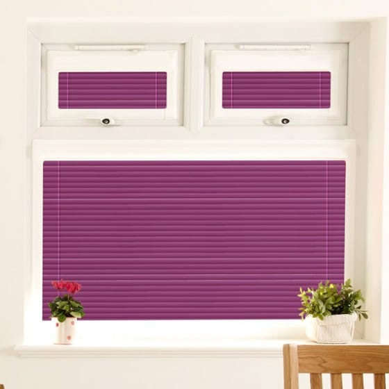 Perfect Fit Deep Purple Venetian Blind