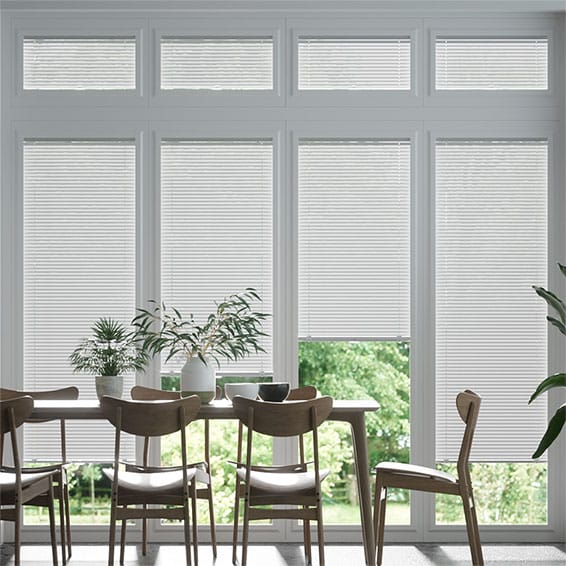 Perfect Fit Frosty White Venetian Blind