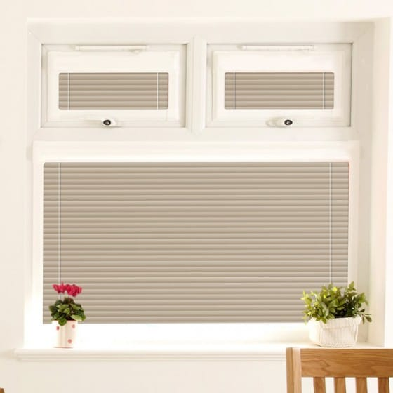 Perfect Fit Fruitful Grey Venetian Blind