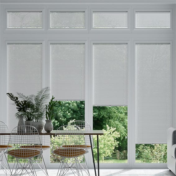 Perfect Fit Ivory White Venetian Blind