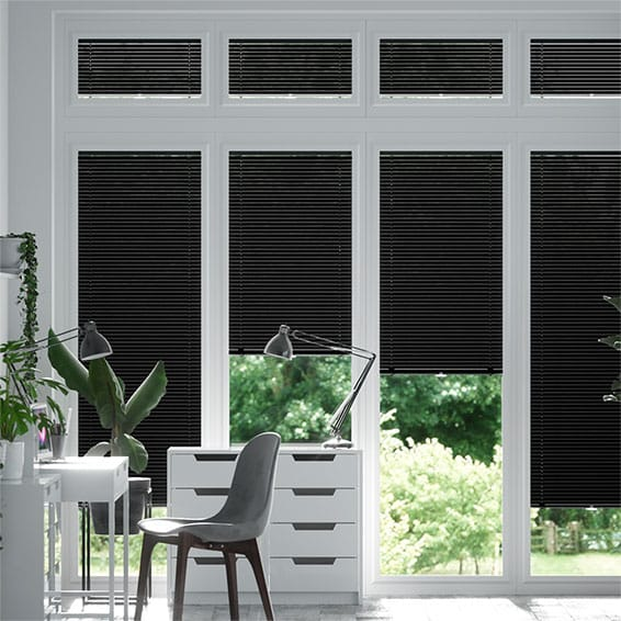 Perfect Fit Joy of Black Venetian Blind