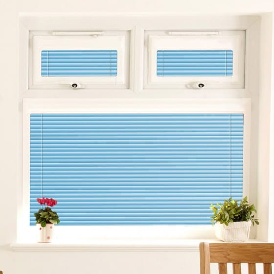 Perfect Fit Marine Blue Venetian Blind
