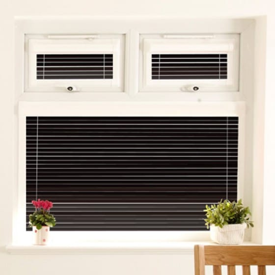 Perfect Fit Midnight Black Venetian Blind