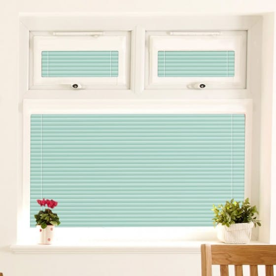 Perfect Fit Pea Green Venetian Blind
