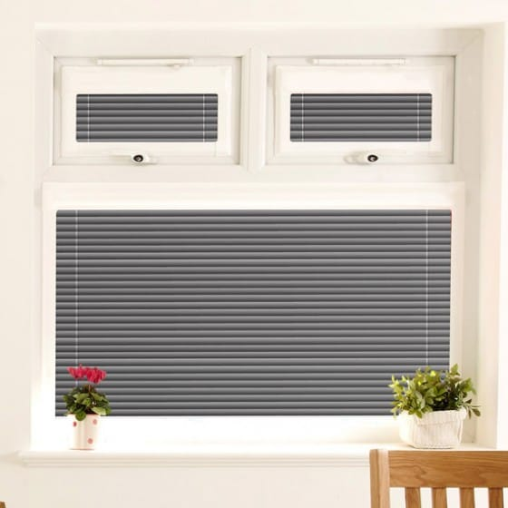 Perfect Fit Pinpoint Black Venetian Blind