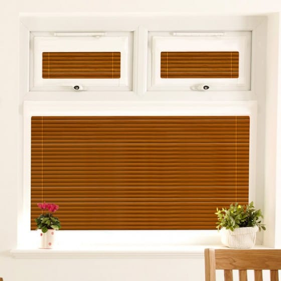 Perfect Fit Razzmattazz Brown Venetian Blind