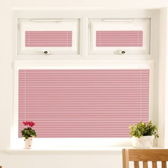 Perfect Fit Rosey Pink Venetian Blind