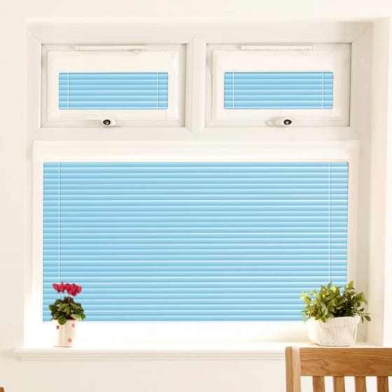 Perfect Fit Seahorse Blue Venetian Blind