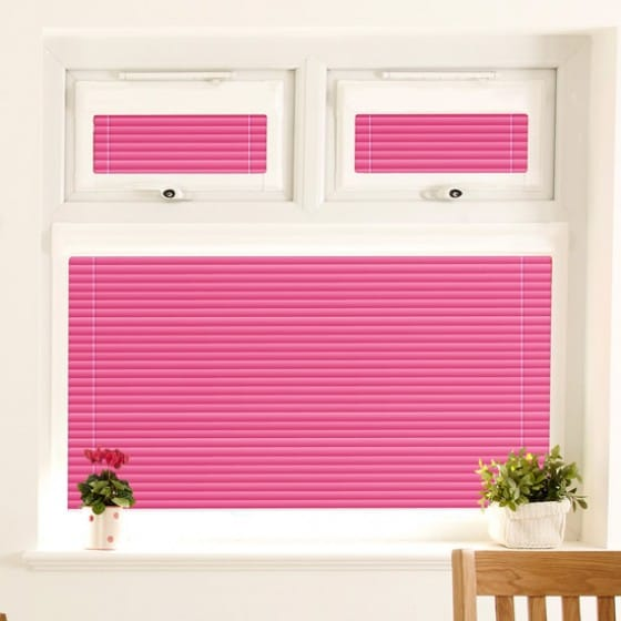 Perfect Fit Shocking Pink Venetian Blind
