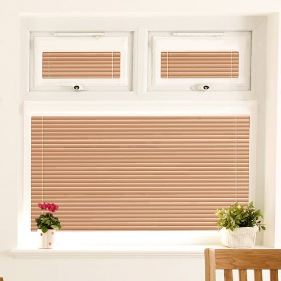 Perfect Fit Soft Melon Venetian Blind