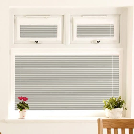 Perfect Fit Speckled Silver Venetian Blind